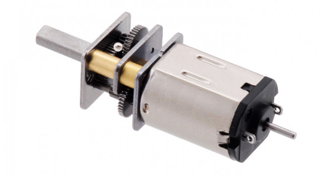 N20 Micro Metal Motor 100 RPM, 6V, Extended Shaft, (Encoder Ready)