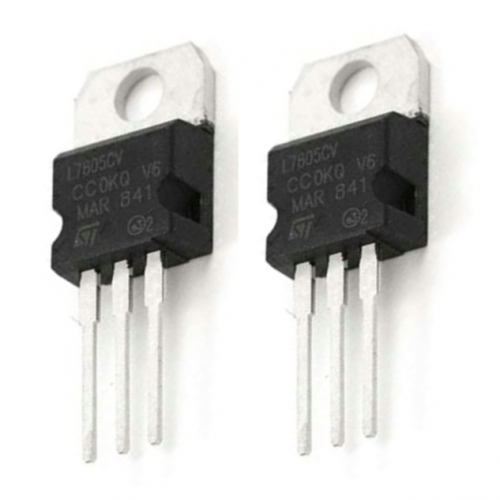 Voltage Regulator 5v Pack Of 2 Micro Robotics