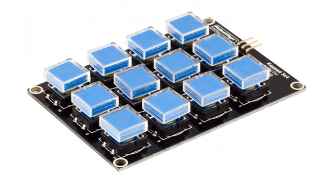 Button Keypad 3x4