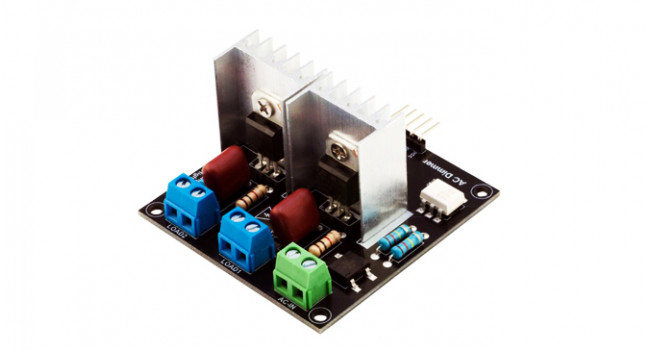 AC Light Dimmer Module, 2 Channel 3.3V/5V