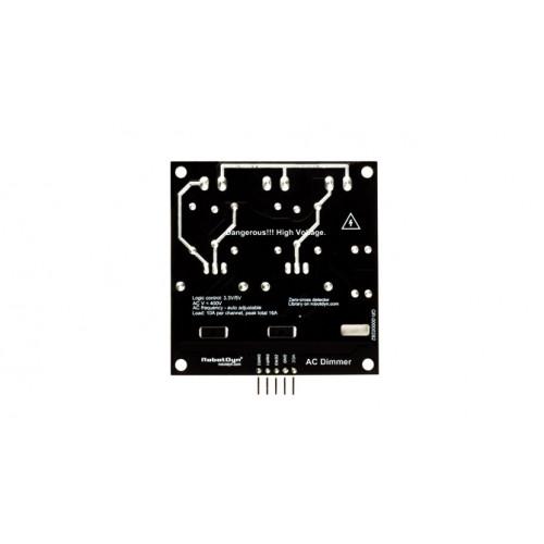 AC Light Dimmer Module, 2 Channel 3 3V/5V - Micro Robotics