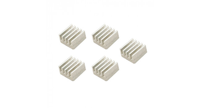 Heating Sink Aluminium 9X9X5mm (5 Pack)