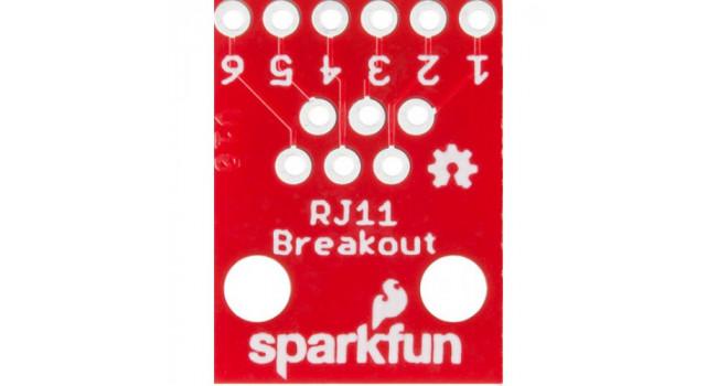 RJ-11 Breakout Board (2 Pack)