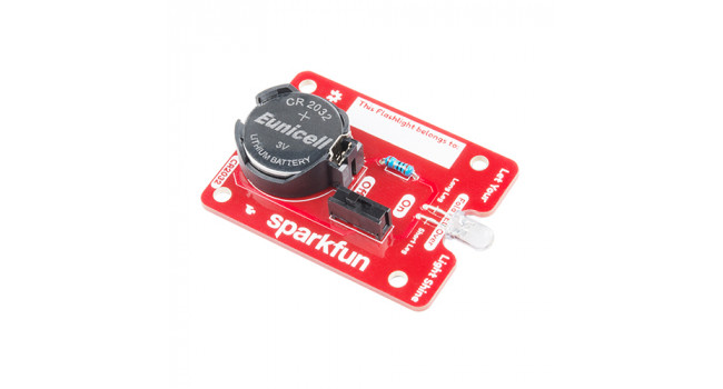 SparkFun Basic Flashlight Solder Kit