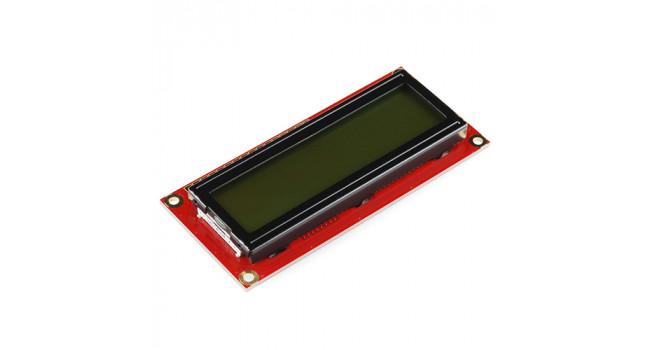 SparkFun 16X2 LCD 5V - Black on Green