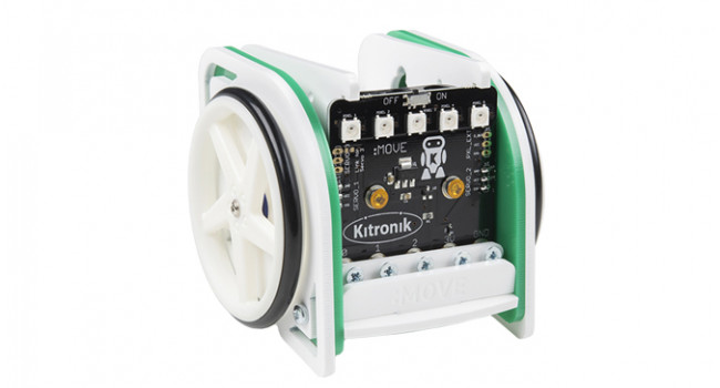 KITRONIK Micro:Bit Move Mini Mk2 Buggy Kit