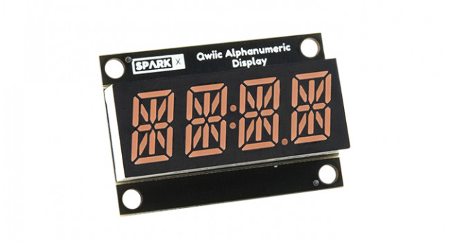 SparkFun Alpha Numerical Display - Red