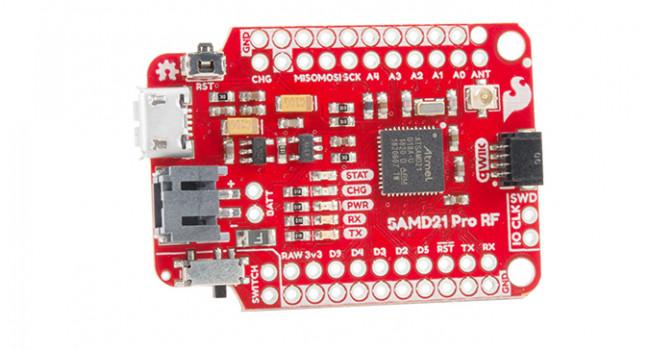SparkFun SAMD21 + LoRa 868/915MHZ