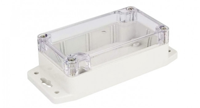 Enclosure 65 x 115 x 40 Clear Lid - Wings