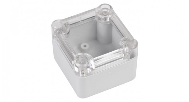 ABS IP65 Case 49 x 51 x 36 - Clear Lid