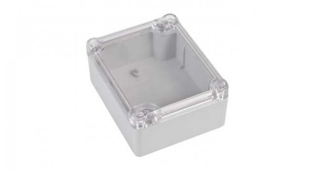 ABS IP65 Case 74 x 89 x 41 - Clear Lid