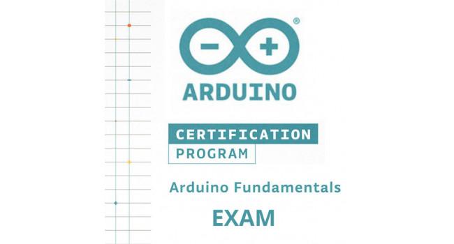 Arduino Fundamentals Exam
