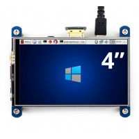 "Wave 4"" IPS Display with Resistive Touch - HDMI & Direct Pi Interface"