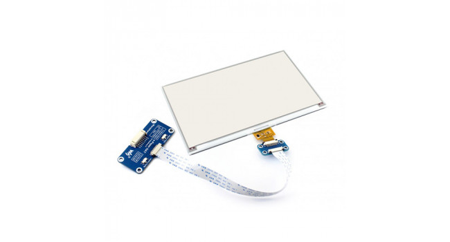 "Pi 7.5"" Display E-Ink 640X384 - 3 Colour"