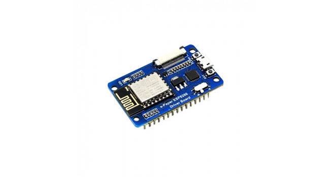 Wave ESP8266 + E-Paper Raw Interface