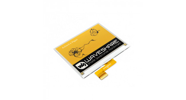 "E-Ink 4.2"" Raw Display - 3 Colour"