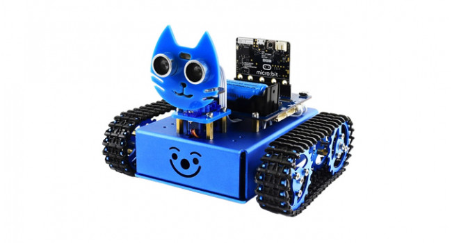 KitiBot Tracked Robot Kit for Micro:Bit