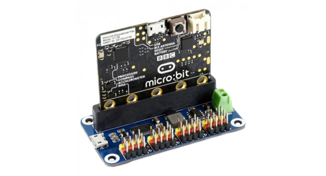 Servo Driver for micro:bit, 16-Channel, 12-bit, I2C