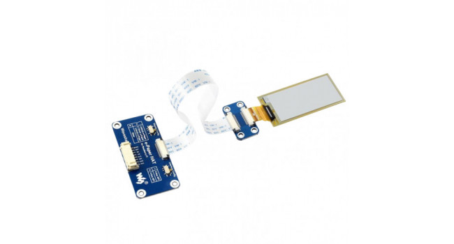 2.13 inch E-ink Display HAT for Pi