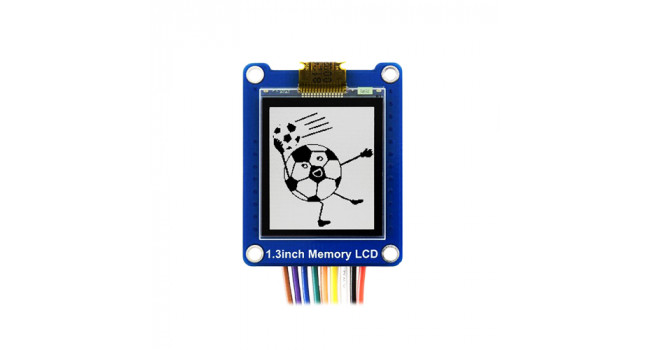 Wave 1.3inch LCD 144x168 - SPI