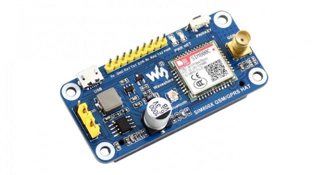 Wave SIM800 Pi GSM/GPRS/Bluetooth HAT
