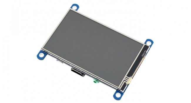 """Wave 4"""" IPS Display HDMI 480x800 with Resistive Touch"""