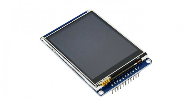 "Wave 2.8"" IPS 320x240 - SPI + Resistive Touch"