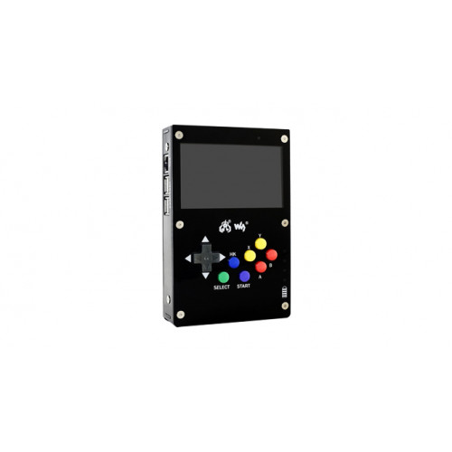 waveshare GamePi43 Portable Retro Video Game Console Based on Raspberry Pi with Raspberry Pi 3B Inside 4.3inch IPS Display 60 fps Smooth Gaming Experience