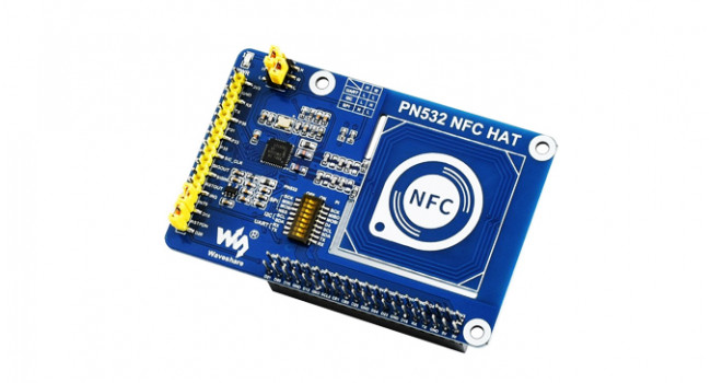 Wave NFC HAT for Pi, ISC, SPI & UART