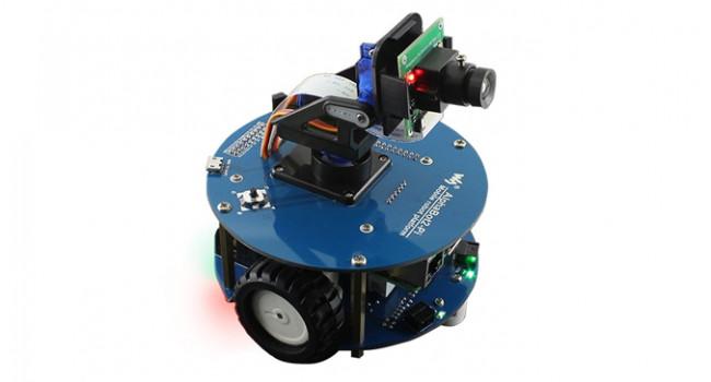 AlphaBot2 Smart Video Robot for Pi4