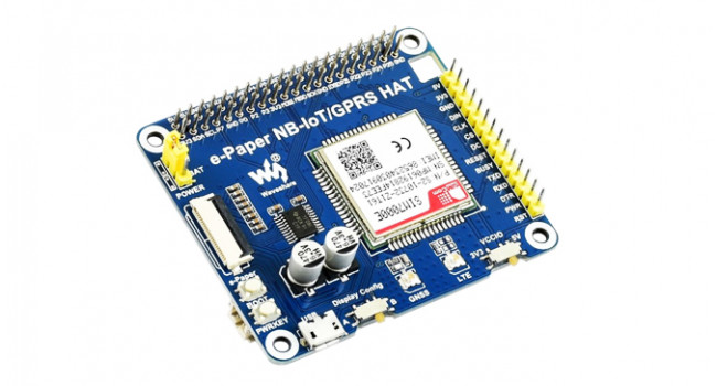 Wave IoT GSM E-Paper Board for Pi