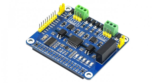 Wave 2 Channel RS485 for Pi