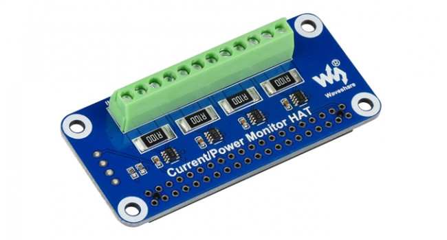 Wave Current Monitor HAT for Pi