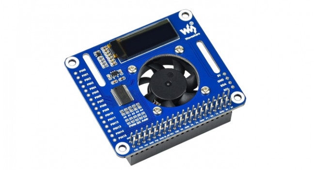 PWM Controlled Fan HAT for Raspberry Pi