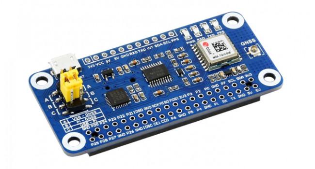 Wave Pi HAT GPS MAX-8Q