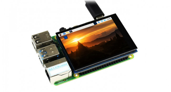 """Wave 2.8"""" IPS Display 480x640 with Capacitive Touch"""