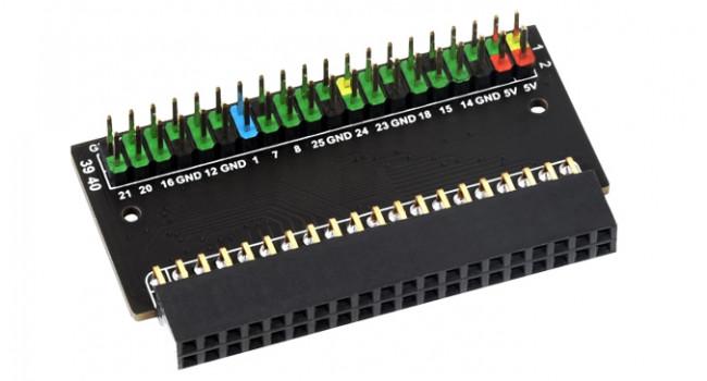 Wave Pi400 GPIO Header Expansion Board - 1x40 Pin