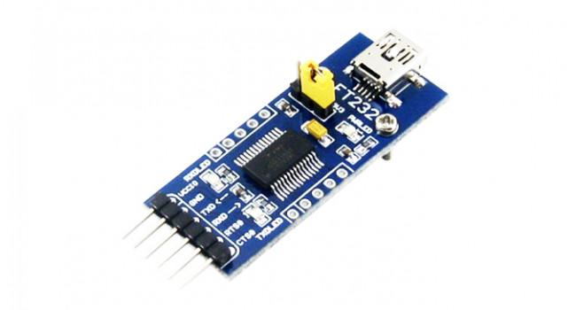 FTDI FT232 Mini USB to Serial
