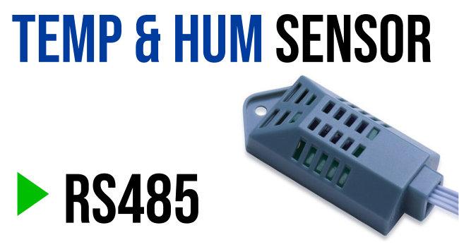 D20E Temperature & Humidity Sensor - RS485