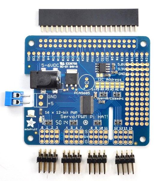 Servo Controller Kit For Raspberry Pi Micro Robotics