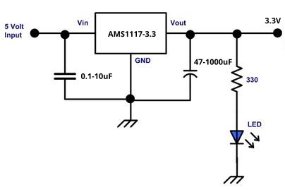 Adjustable Voltage Regulator Wiring Diagram