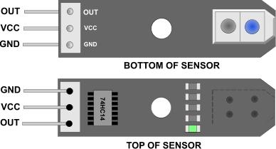 Line Follower Module - TCRT5000 - Micro Robotics