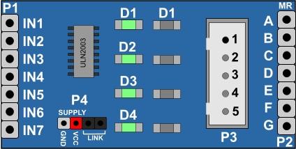 Uln2003 Stepper Driver Micro Robotics