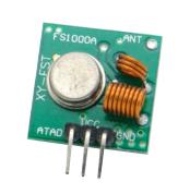 Standard RF Link 433Mhz TX + RX