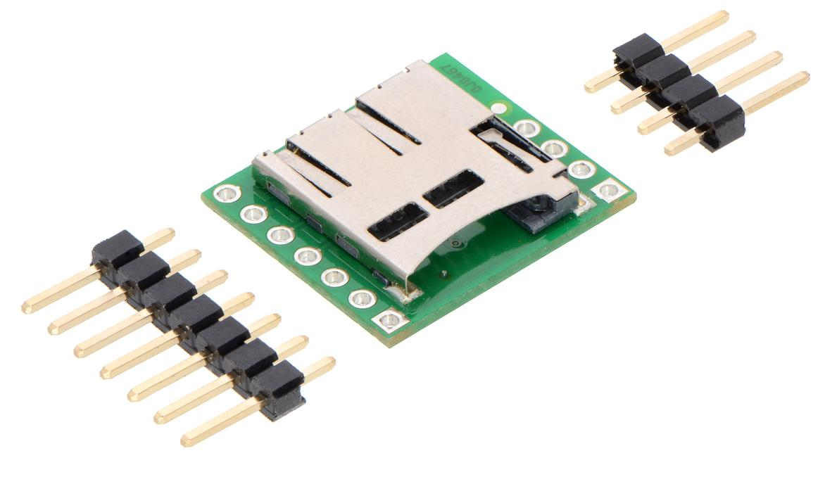 Microsd Card Breakout Board Micro Robotics Arduino Pwm Charge Controller V2 Veroboard V3 Sd Pololu