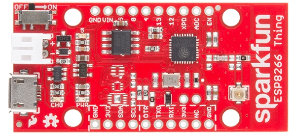 sparkfun thing dev board