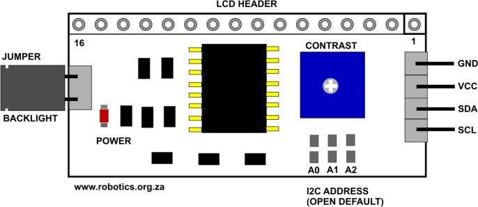 i2c lcd display