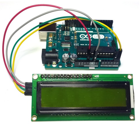 Arduino I2C Display